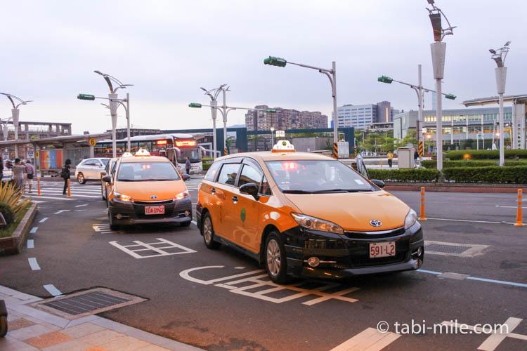 台湾旅行ー台北松山空港タクシー