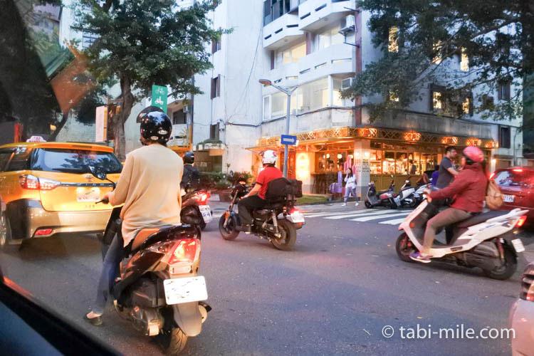 台湾旅行ー台北松山空港から市内へのタクシー