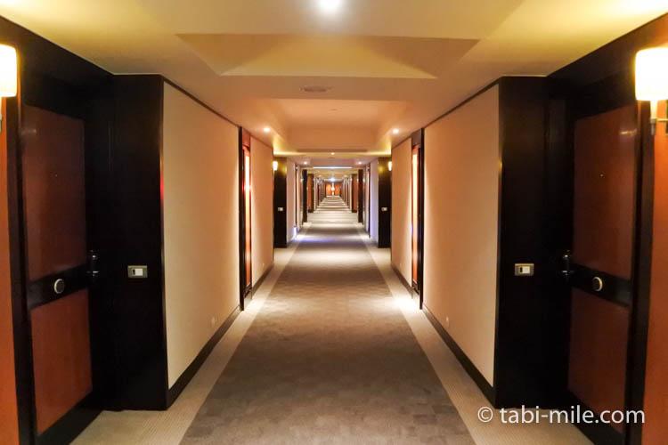 台湾旅行 リージェント台北 部屋廊下