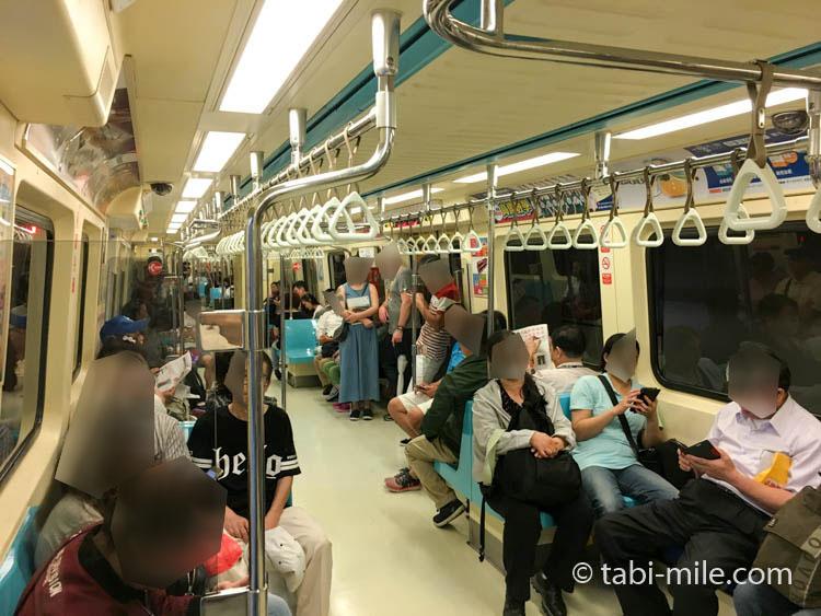 台湾の台北MRT(地下鉄)画像24