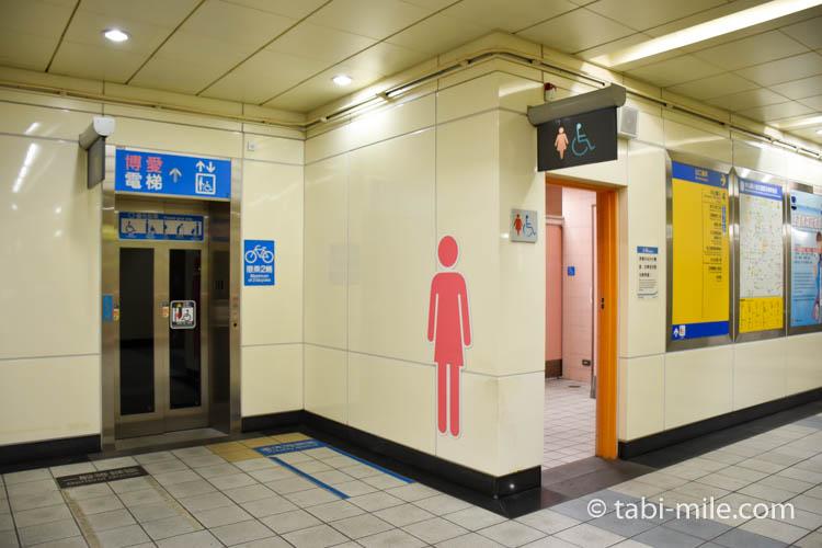 台湾の台北MRT(地下鉄)画像06