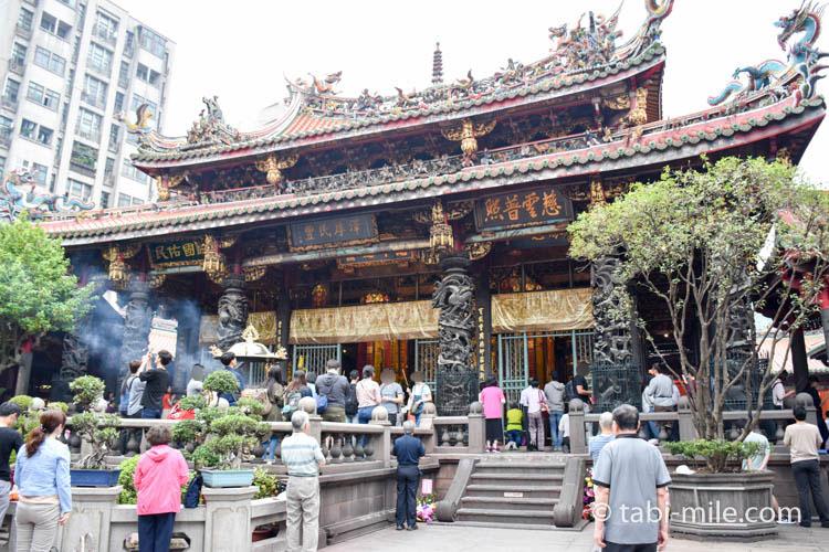 台北市古いパワースポット龍山寺