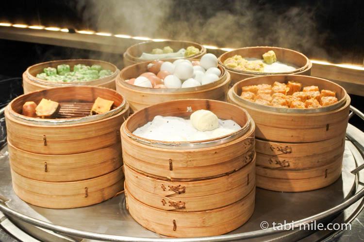 台湾 リージェント台北 朝食 ブラッセリー  台湾料理3