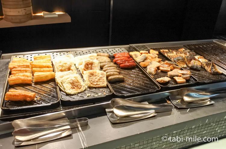 台湾 リージェント台北 朝食 ブラッセリー  台湾料理1