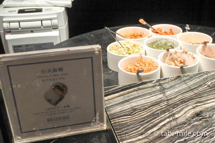 台湾 リージェント台北 朝食 ブラッセリー  台湾料理7