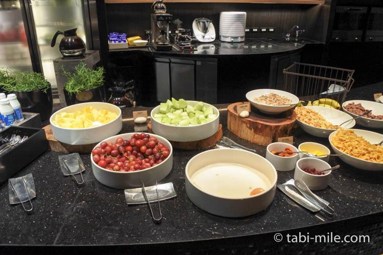 台湾 リージェント台北 朝食 ブラッセリー  フルーツ