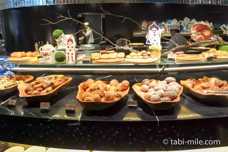 台湾 リージェント台北 朝食 ブラッセリー  パン1