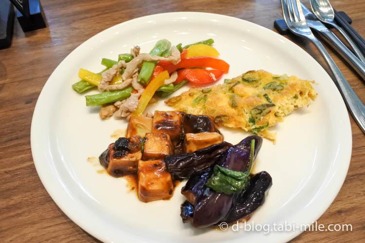 台湾 リージェント台北 朝食 ブラッセリー 1日目2