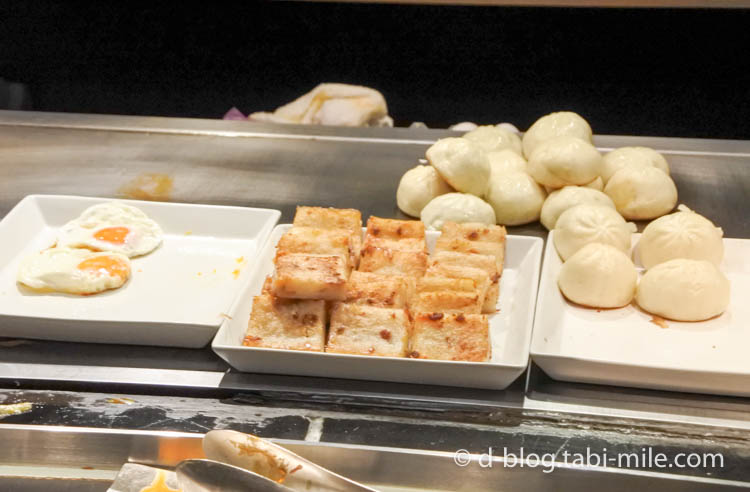 台湾 リージェント台北 朝食 ブラッセリー  台湾料理5