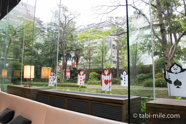 台湾 リージェント台北 朝食 ブラッセリー 内装3