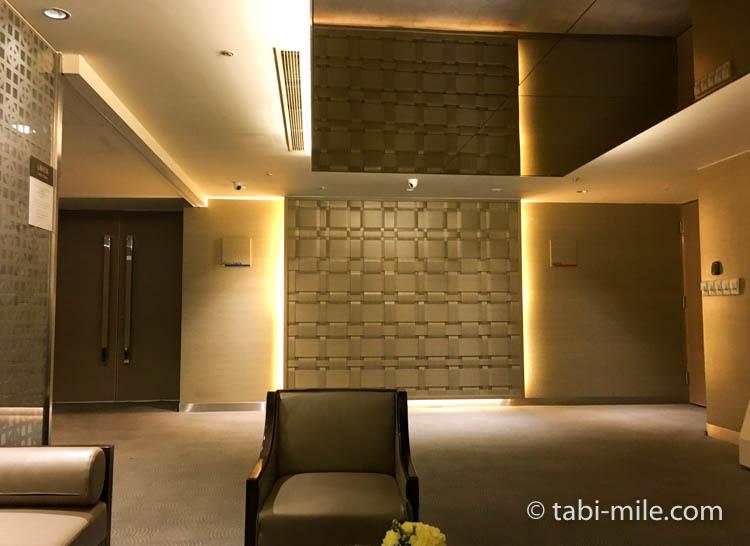 台湾旅行 リージェント台北 エレベーターヘルスクラブサウナ大浴場入口