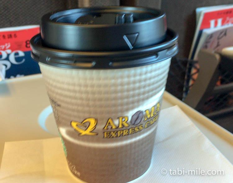 広島旅行 東京駅 新幹線 売店コーヒー