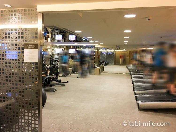 台湾旅行 リージェント台北 エレベーターヘルスクラブ ジムマシーン