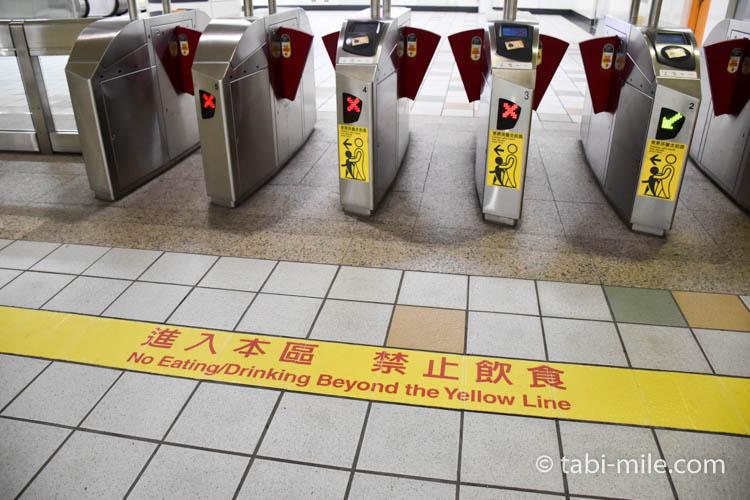 台湾の台北MRT(地下鉄)画像10