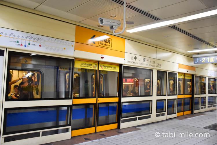 台湾の台北MRT(地下鉄)画像08