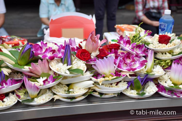 龍山寺お供えの花