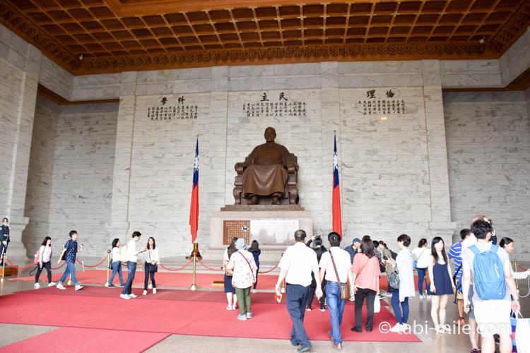 中正紀念堂蒋介石全体像