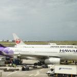 JALとハワイアンエアライン