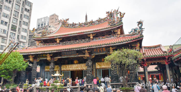 台湾龍山寺