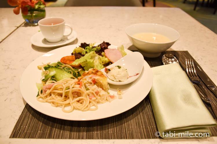 コートヤード台北エグゼクティブラウンジ 食べたご飯05