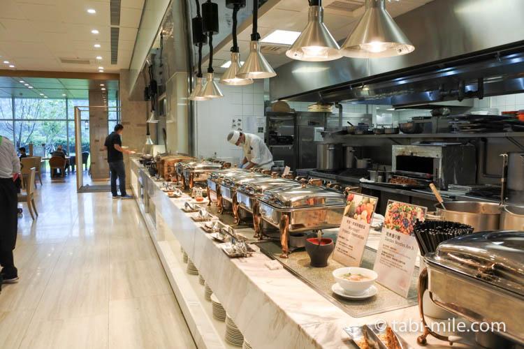 SPG 台湾 コートヤード台北 朝食 レストラン様子5