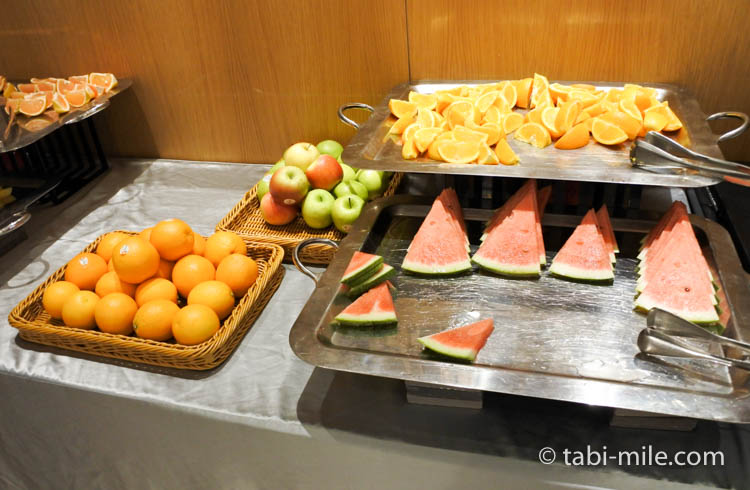 SPG 台湾 コートヤード台北 朝食 メニュー23