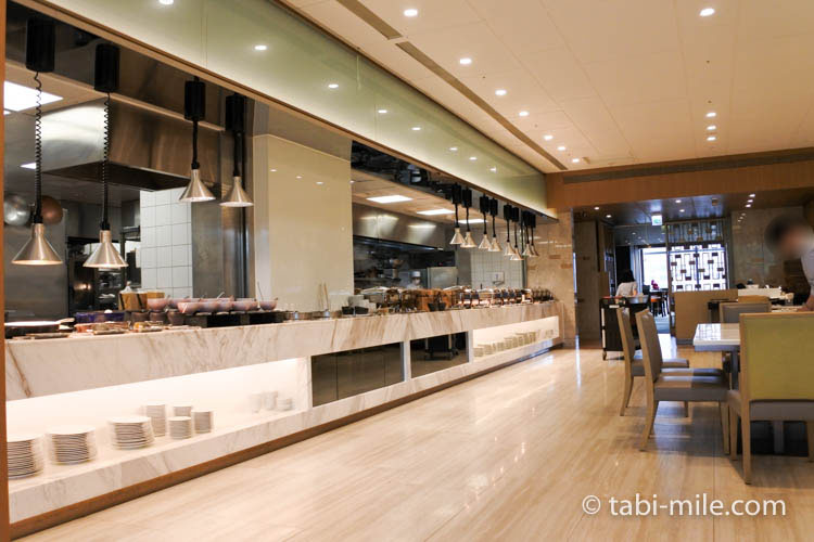 SPG 台湾 コートヤード台北 朝食 レストラン様子6