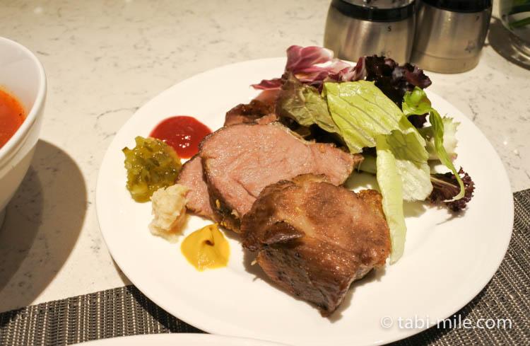 コートヤード台北エグゼクティブラウンジ 食べたご飯12