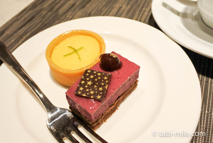 コートヤード台北エグゼクティブラウンジ 食べたデザート1
