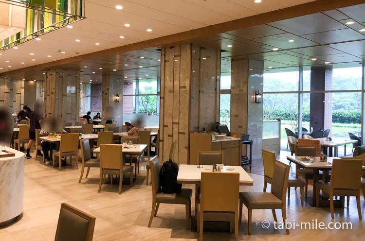 SPG 台湾 コートヤード台北 朝食 レストラン様子3