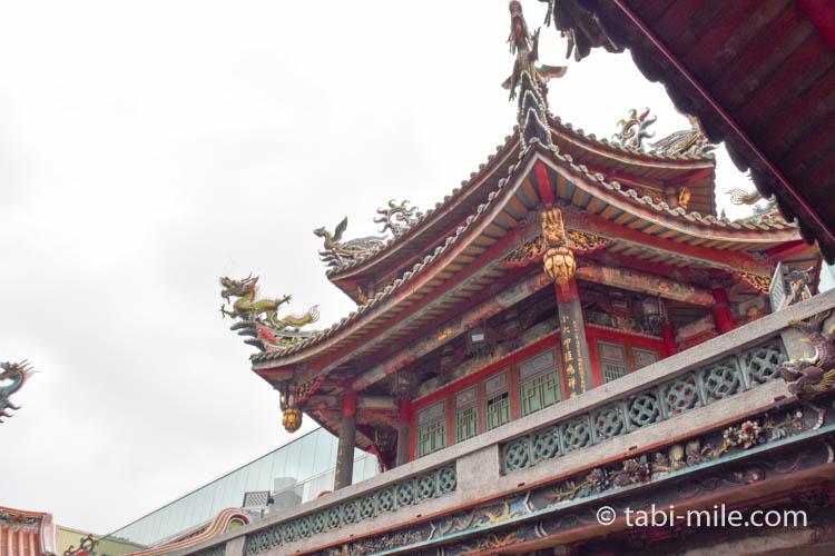龍山寺の龍たくさん