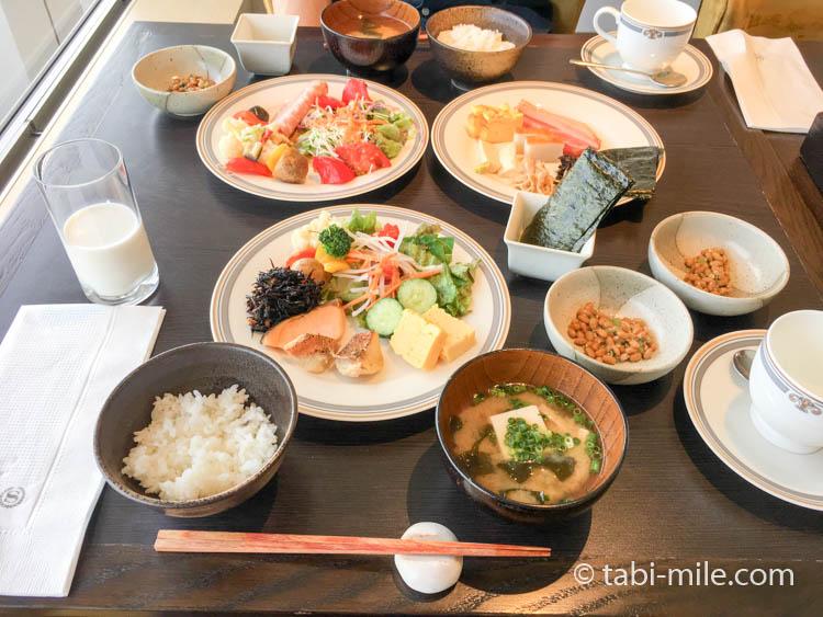 シェラトングランデ東京ベイのクラブラウンジ朝食27