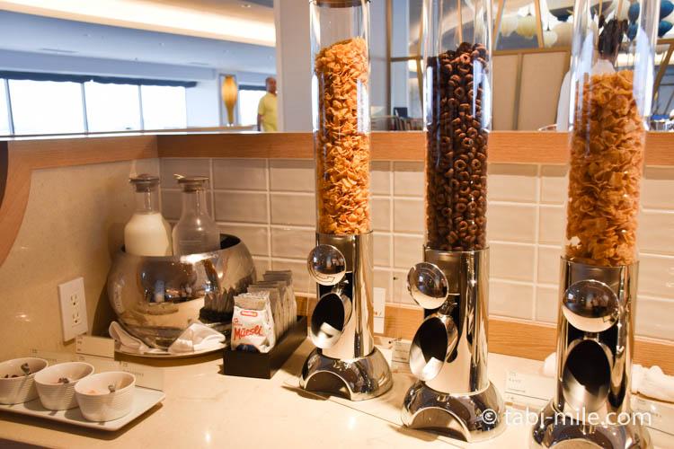シェラトングランデ東京ベイのクラブラウンジ朝食11