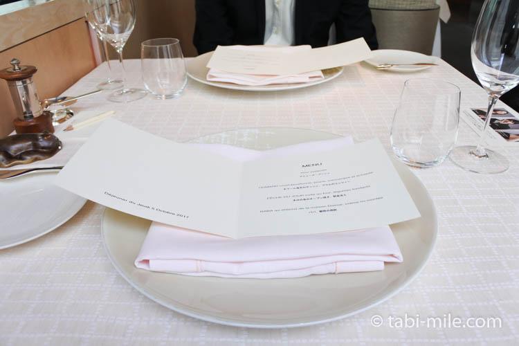 フランスレストランウィーク ベージュアラン・デュカス03