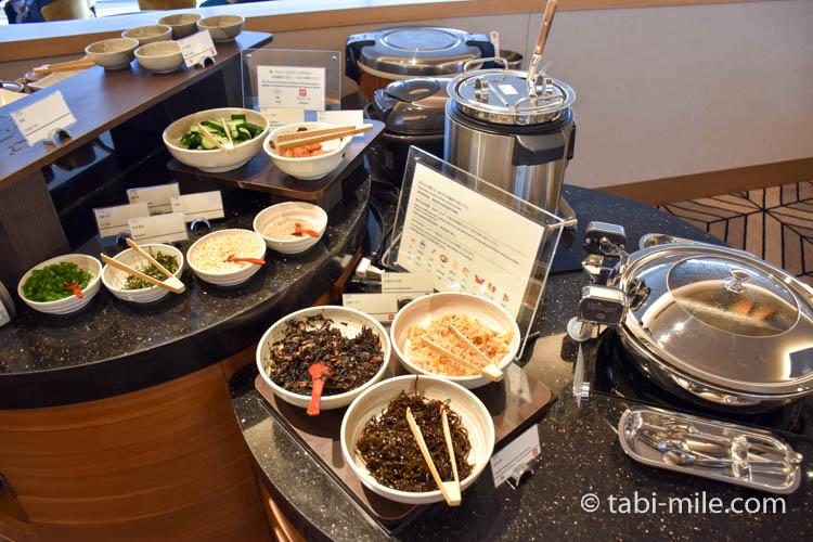 シェラトングランデ東京ベイのクラブラウンジ朝食13