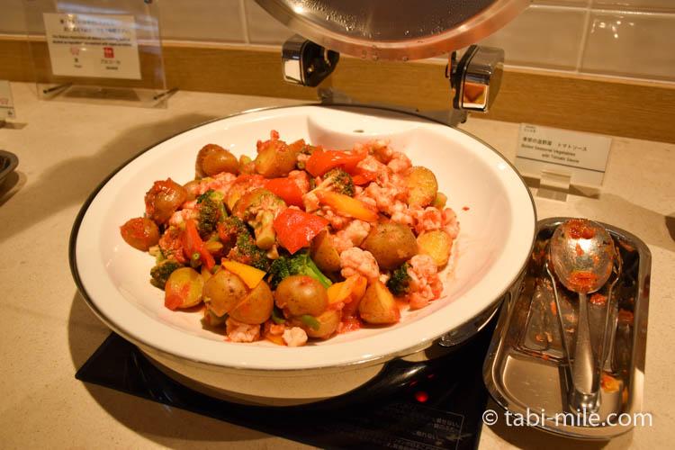 シェラトングランデ東京ベイのクラブラウンジ朝食08