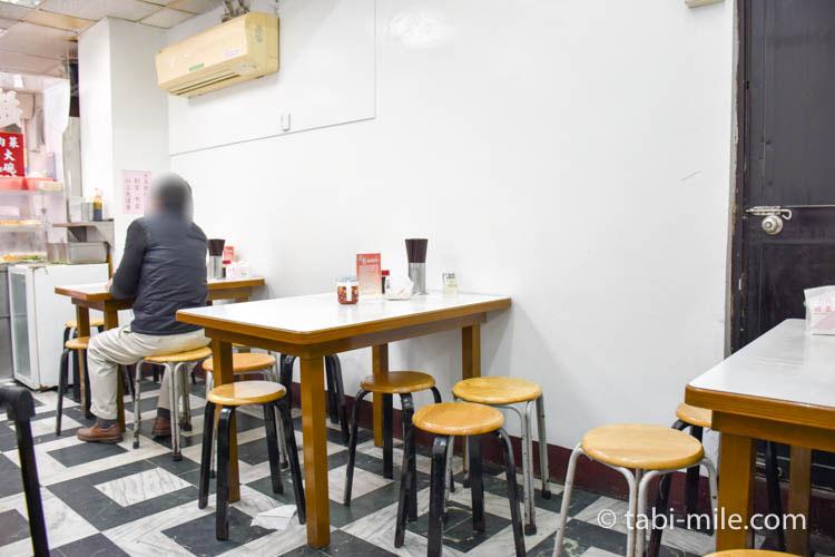 台湾 趙記菜肉餡饅大王 ワンタンスープ お店の様子