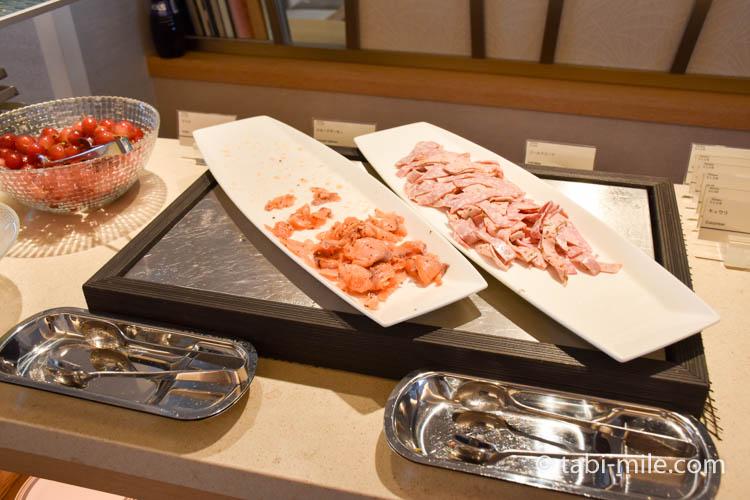 シェラトングランデ東京ベイのクラブラウンジ朝食03