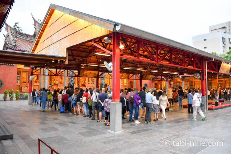 台北行天宮全景