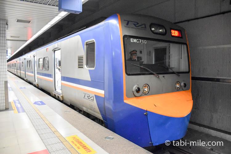 九份への行き方 新型の列車