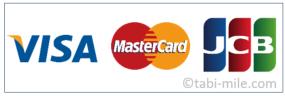 カードブランドロゴ VISA JCB MasterCard
