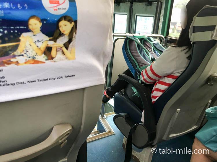 九份から台北への帰り方 瑞芳行きのバス車内02