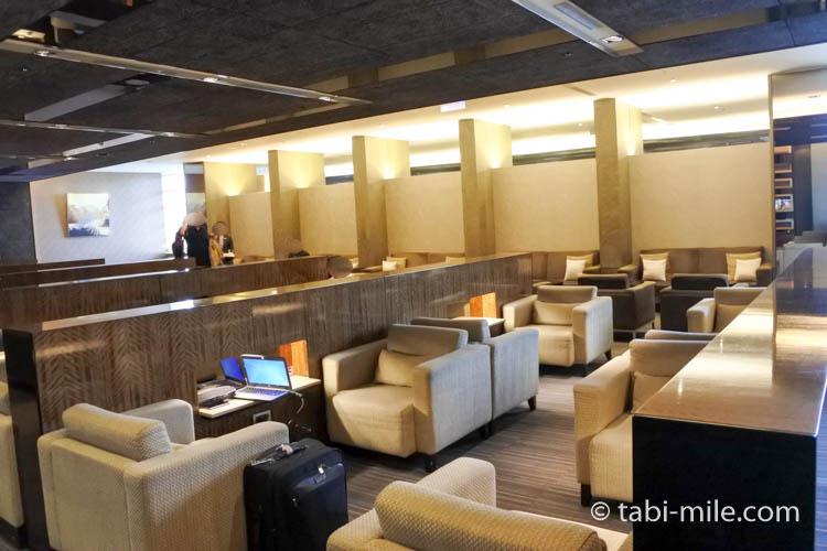 台北松山空港VIPラウンジ座席