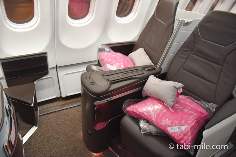 ハワイアン航空 ビジネスクラス様子05