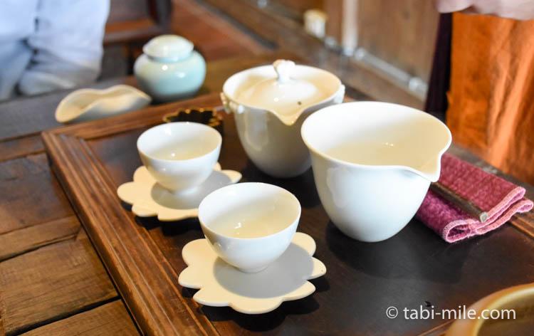 台湾 九份茶房 台湾茶 入れ方3