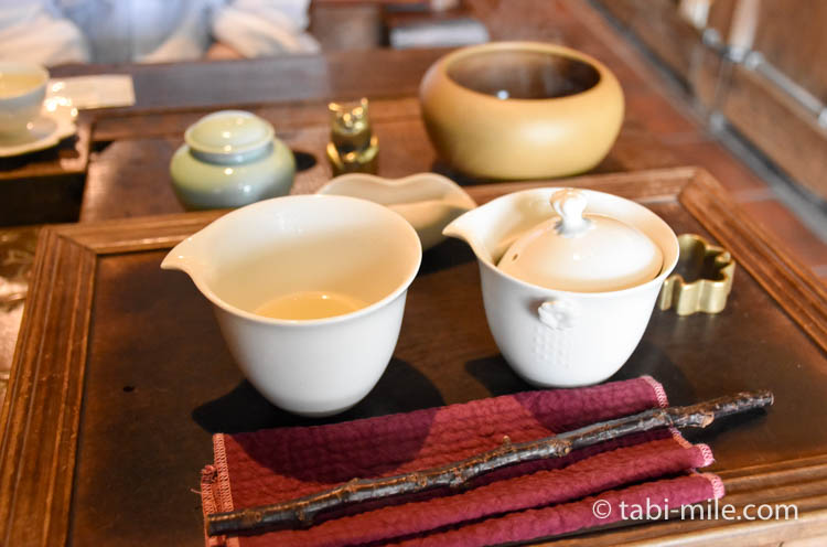 台湾 九份茶房 台湾茶 入れ方4