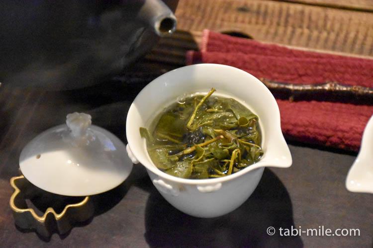 台湾 九份茶房 台湾茶 入れ方5
