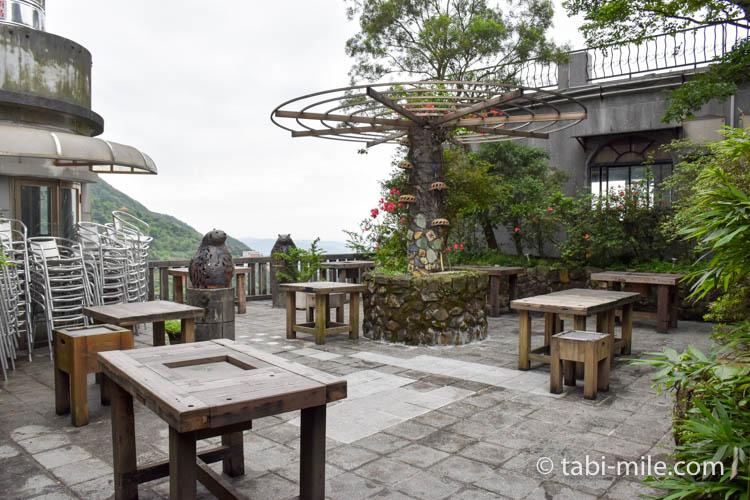 台湾 九份茶房 店内様子5