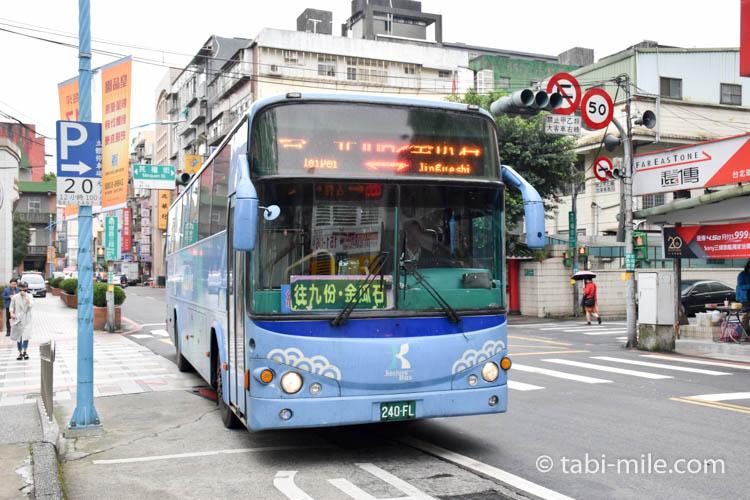 九份への行き方 九份行きのバス
