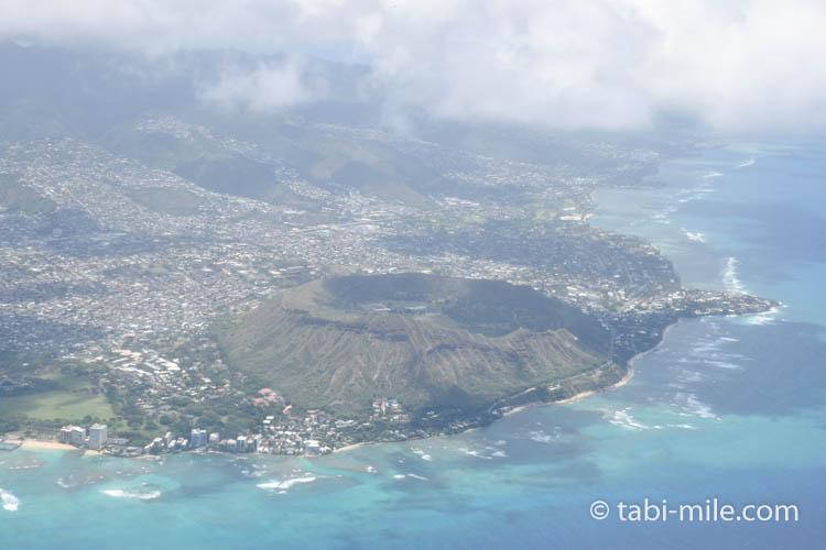 ハワイアン航空ホノルルからハワイ島へのフライト55